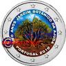 2 Euro Commémorative Portugal 2018 en Couleur Type A - Jardin Botanique
