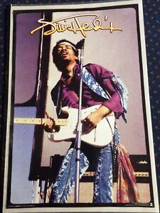 Jimi Hendrix Poster (New) 61cm x 91.5cm