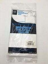 Chef Revival 600Baw White Bib Apron with Pencil Pocket