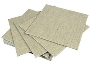 Pebeo Canvas Boards ~ 10cm x 10cm ~ 20cm x 20cm ~ White and Linen