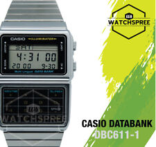 Casio Data Bank Watch DBC611-1D