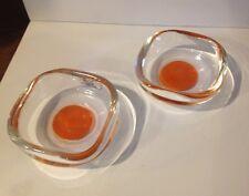 Venini italy N 2 Posacenere Ashtray Glass  Murano