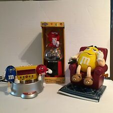 m &m lot M&M Limited Edition Clock Radio  with dispensers sofa chair lounger