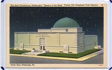 NIGHT VIEW,THE MILLION $ BUHL PLANETARIUM,THEATRE OF STARS,N SIDE,PITTSBURGH,PA