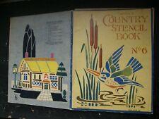 RARE 1930S 1940S UNUSED DEANS STENCIL BOOK NO 6 , DEAN AND SON