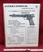 Smith and Wesson Original Model 41 International Compettion Handbill