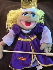 Melissa & Doug Purple Princess Puppet Houdini's Magic Shop