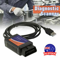 ELM327 USB modified for Ford ELMconfig latest chip HS-CAN MS-CAN Forscan OBD2 MM