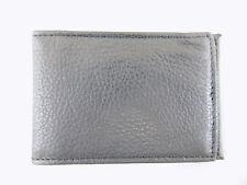 Perry Ellis $65 Black ID Wallet MEN Leather Wallet 2 CREDIT CARDS D05