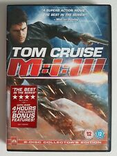 Mission Impossible 3 - 2 disc edition - Region 2 - VGC - DVD - Tested