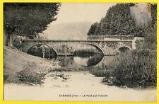CPA France 83 - CABASSE (Var) Le PONT sur l'ISSOLE Pêcheur