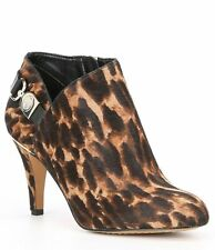 Vince Camuto Vesela3 Animal Print Calf Hair Bootie Size 7M