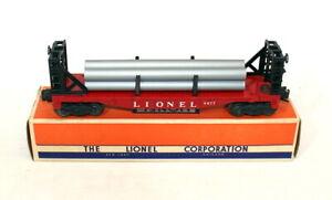 Postwar Lionel 6477 Miscellaneous Car w/Pipes~All Original~w/Nice OB