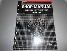 Honda Power Equipment Factory Shop Manual Multi-Purpose Pump Wmp20X 61Yeo600
