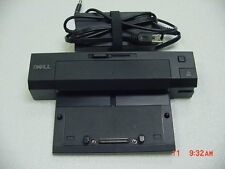 DELL PR02X Latitude F310C E-PORT PLUS Docking Replicator with AC Adapter