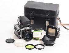 Kiev 88 Medium  Format 6x6 Camera + 80mm Lens 2x Backs and Prism . (4492G)