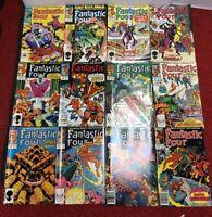 Lot of 18 Marvel Fantastic Four Comics 80's Era