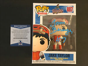 Tom Berenger Signed POP! Jake Taylor Beckett COA Funko Major League Cleveland