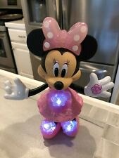 Disney Blossom Bows Minnie Mouse Doll --Sings, and Lights Up!