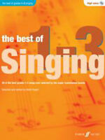 The Best Of Singing Grades 1-3 (High Voice) High Voice Sheet Music, CD Backing T