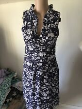 SZ 8 DAVID LAWRENCE LINEN  DRESS  *BUY FIVE OR MORE ITEMS GET FREE POST