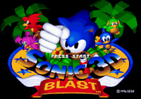 Sonic 3D Blast - Sega Genesis Game