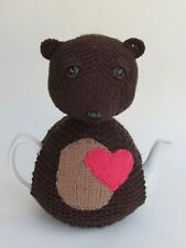 Teddy Bear Tea Cosy Knitting Pattern to knit your own