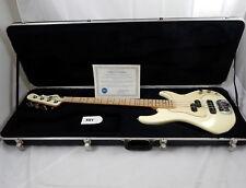 G&L 2004 American SB-2 P/J Bass w/Case - Olympic White w/Matching HS - USA Made