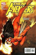 The New Avengers #4 Spider-Woman Signed By Artist David Finch
