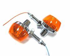 Pair REAR Turn Signal Lights For Honda XL350 Motosport XL250  XL 350 250 w/ stay