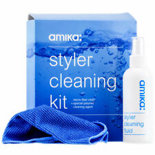 AMIKA Styler Cleaning Kit + Micro Fiber Cloth w/ Special Polymer Agent