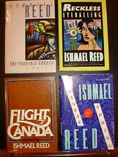 Lot of 4 African American Books.Ishmael Reed
