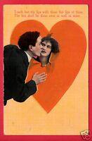 RPO ST LOUIS 1911 TOUCH BUT MY LIPS HEART LOVERS KUTTLER EDON OHIO   POSTCARD