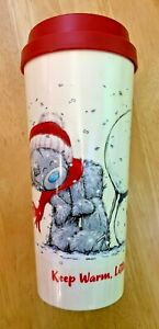 Tatty Teddy TAKE OUT MUG Keep Warm Little Bear CHRISTMAS TRAVEL DRINK CUP -500ML