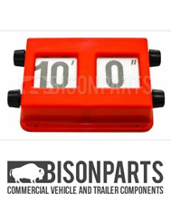 *Commercial Vehicle Truck Lorry Bus Height Indicator Imperial Universal Bp76-002