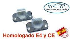 PLAFONES LED MATRICULA VW T4 TRANSPORTER CANDY JETTA HOMOLGADO E4 CE LUCES LUZ