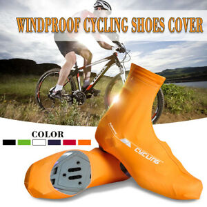 Bicycle Windproof Overshoes Shoe Covers Bike Cycling Zippered Sportwear 3