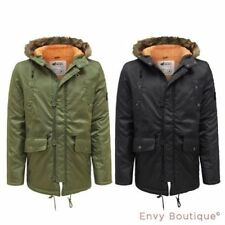 Cappotti e giacche da uomo dalla pelliccia blu