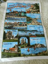 Vintage Tea Towel BOURNEMOUTH 100% Cotton - 3 Available  New Old Stock