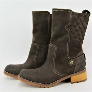 Timberland Earthkeepers Apley Waterproof Boot7.5 Leather Pull On Womens