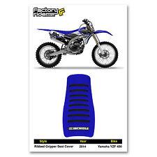 Factory Effex TC4 Black Blue Seat Cover Yamaha YZ250F YZF 250 14 15 16 17 18 NEW