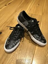 Adidas Men's Adi Ease GONZ Black Leather Trainers (UK10/Excellent Condition)