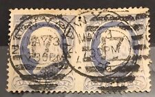 US Stamp Scott # 182? Or 206? Incredible Misperforation Error* Pair UVLH VF US38