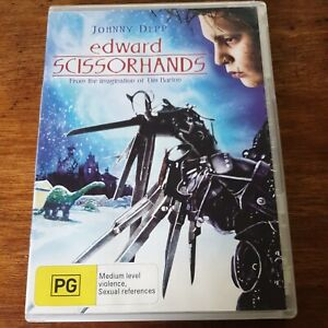 Edward Scissorhands DVD R4 Like New! FREE POST