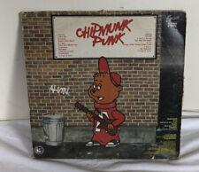 "Alvin and the Chipmunks ""Chipmunk Punk"" Vinyl LP 12"" Record XLP-6008"