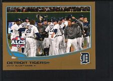 2012 ALCS GAME 4 2013 TOPPS MINI #179 GOLD PARALLEL TIGERS SP #48/62