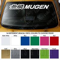 """MUGEN Honda Windshield Banner Civic Type R Vinyl Premium Decal Sticker 40"""""""