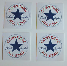 4 Aufkleber Sticker Converse (S011)