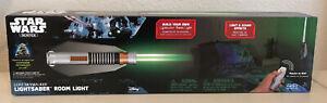 Star Wars Science Lightsaber Luke Skywalker With Remote & Wall Mount FAST SHIP!