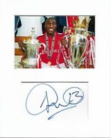 Sol Campbell Arsenal genuine authentic hand signed autograph signature AFTAL COA